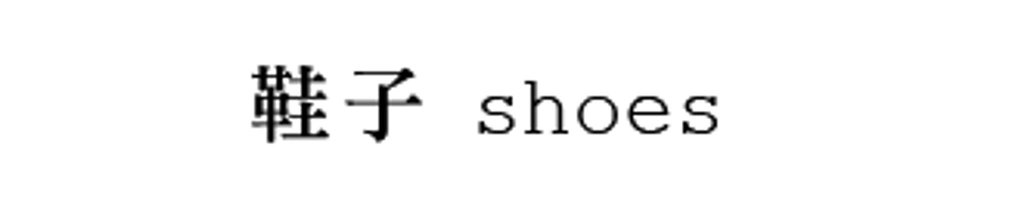 鞋 / SHOES