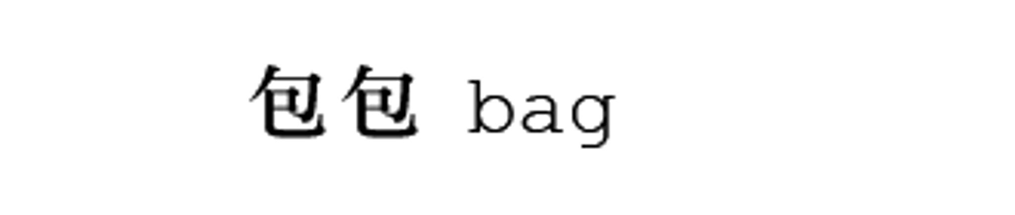 包包 / BAG