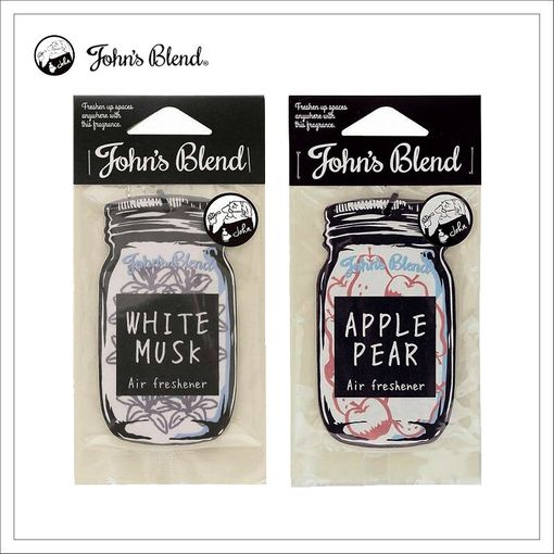 OAJON01 日本 John's Blend 香氛片 超夯掛式芳香片 (7種香味/單片裝)