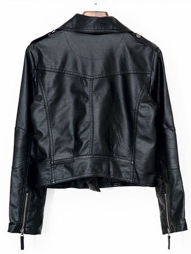 OT01611004 歐美柔軟仿皮衣外套