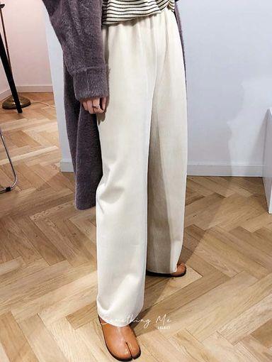 BE201203 燈芯絨慵懶舒適寬褲 3色