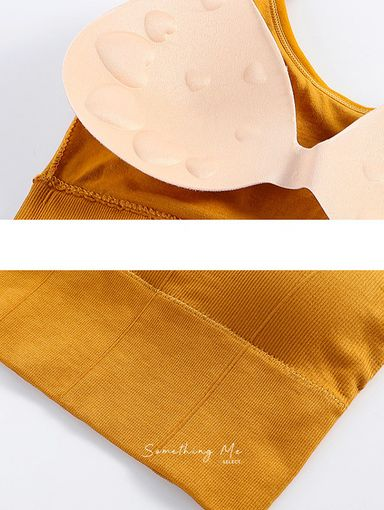 T2007022 無縫美背V領小可愛 7色