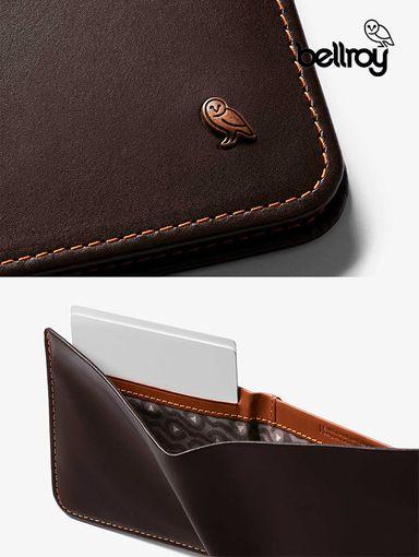 WHSD 澳洲 bellroy - 防盜RFID! Hide&Seek橫式皮革短夾/LO版